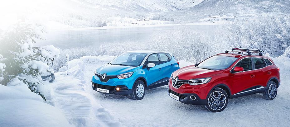 Talvipaketti 0 € – etusi jopa yli 2500 € Voimassa Captur, Kadjar ja Clio -malleihin