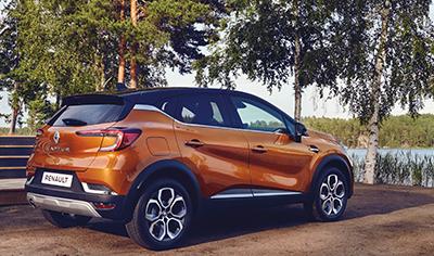 Täysin uusi Renault CAPTUR erityisen juhlavalla varustelulla!