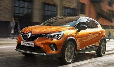 Täysin uusi Renault CAPTUR