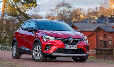 Entistä enemmän Renault Capturia upeaan hintaan – alkaen 19 390 euroa