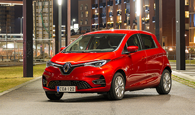 Kolmannen sukupolven Renault ZOE on kompaktien sähköautojen uusi standardi