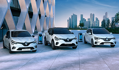 Renault E-Tech Hybridit saapuvat Suomeen
