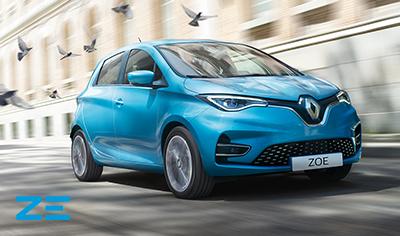 Uusi Renault ZOE<br>Sähköllä joka päivä.