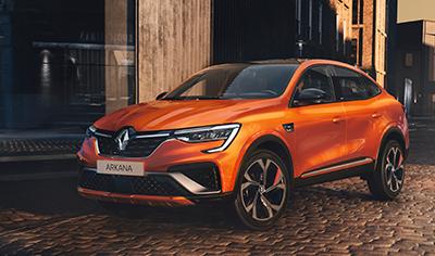 Uusi Renault Arkana tuo ranskalaista tyyliä katumaasturimarkkinoille