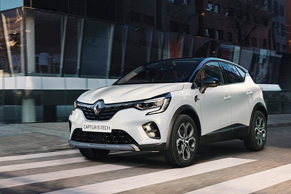 CAPTUR E-TECH Plug-in hybrid, ulkoasu