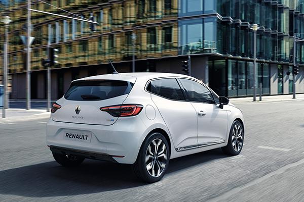 Renault Clio hybrid, itselataava