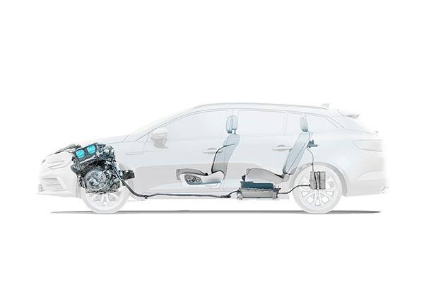 Megane Sport Tourer Plug-in hybrid, moottorit